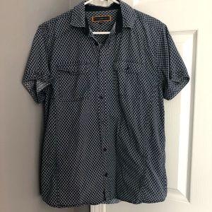 Short sleeved button down shirt (mens)